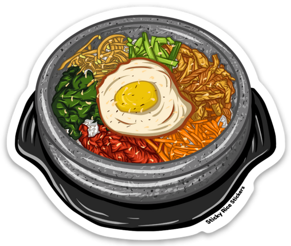 Bibimbap - Sticker