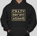 Crazy Broke Asians - HOODIE - BLACK