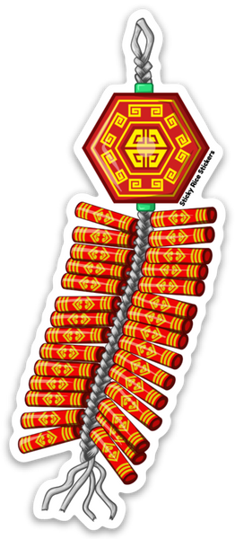 Fire Cracker - Sticker