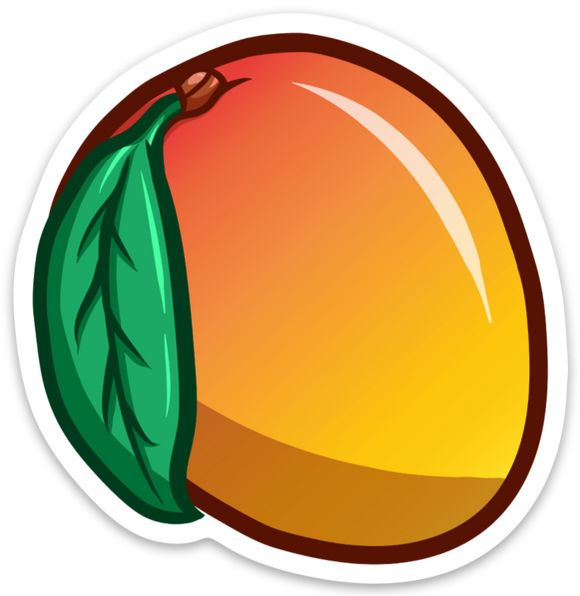 Mango - Sticker