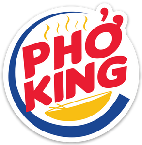 Pho King - Sticker