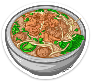 Pho Bowl - Sticker
