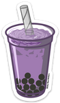 Purple Boba - Sticker