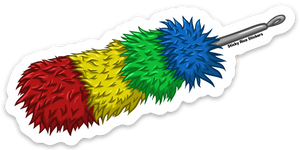 Rainbow Duster - Sticker