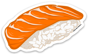 Salmon Nigiri Sushi - Sticker