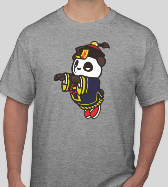 Pando the Jumping Vampire - Grey TSHIRT