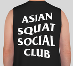 Asian Squat Social Club SLEEVELESS - Black