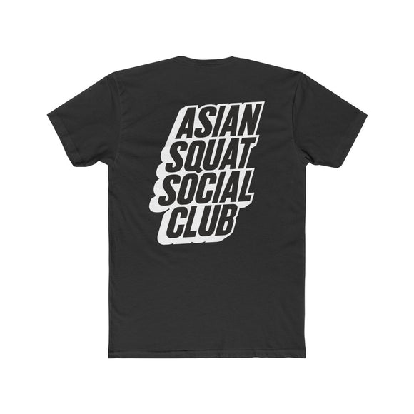 Asian Squat Social Club - Block Tshirt