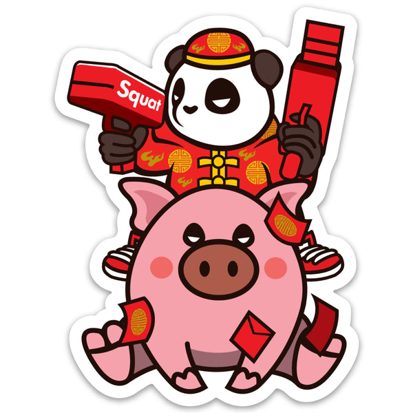 Year of the Hype Pig - Sticker