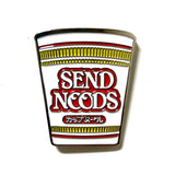 Send Noods Enamel Pin