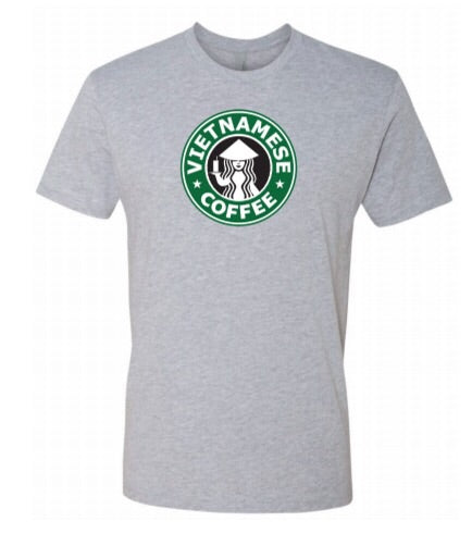 Vietnamese Coffee - Shirt - GREY