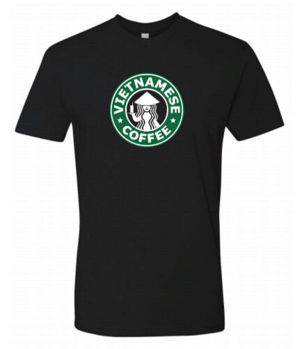 Vietnamese Coffee - Shirt - BLACK