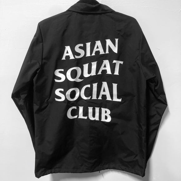 Asian Squat Social Club - COACH JACKET
