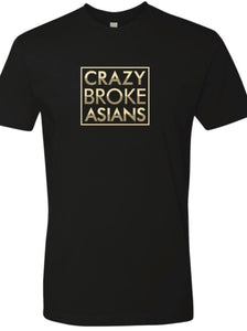 Crazy Broke Asians - TSHIRT - Black