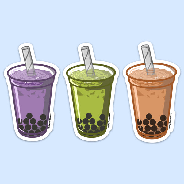 Boba Addict Kit - Sticker