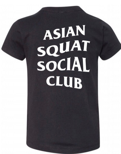 Toddler Asian Squat Social Club - TSHIRT