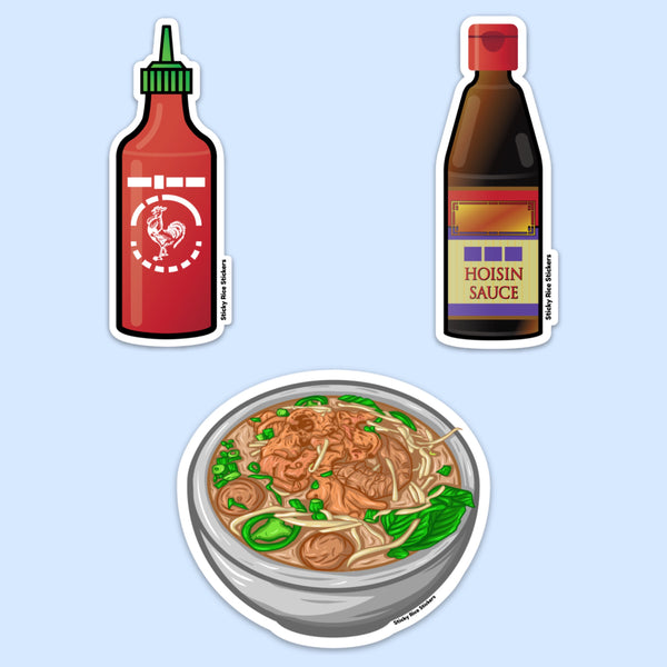 Pho Addict Kit - Sticker