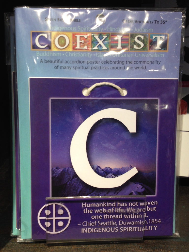 Accordion Poster, Coexist