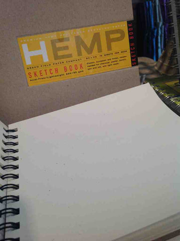 Hemp Sketch Books