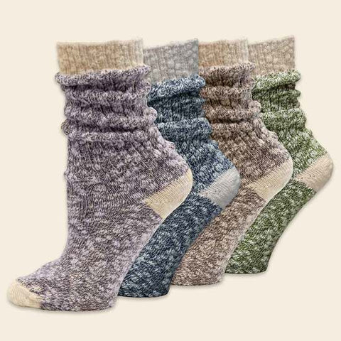 Organic Cotton Ragg Socks