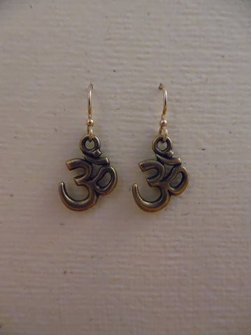 Aum Earrings