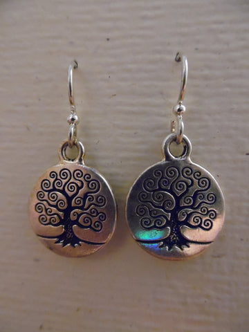 Earrings, Tree of Life