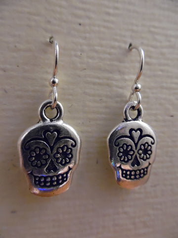 Earrings, Sugar Skull