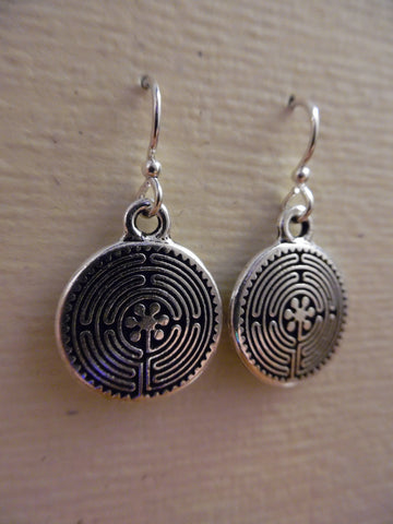 Earrings, Labyrinth