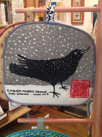 Potholder, Raven In Snow