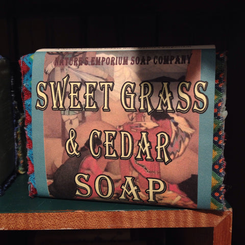 Soap - Sweet Grass & Cedar