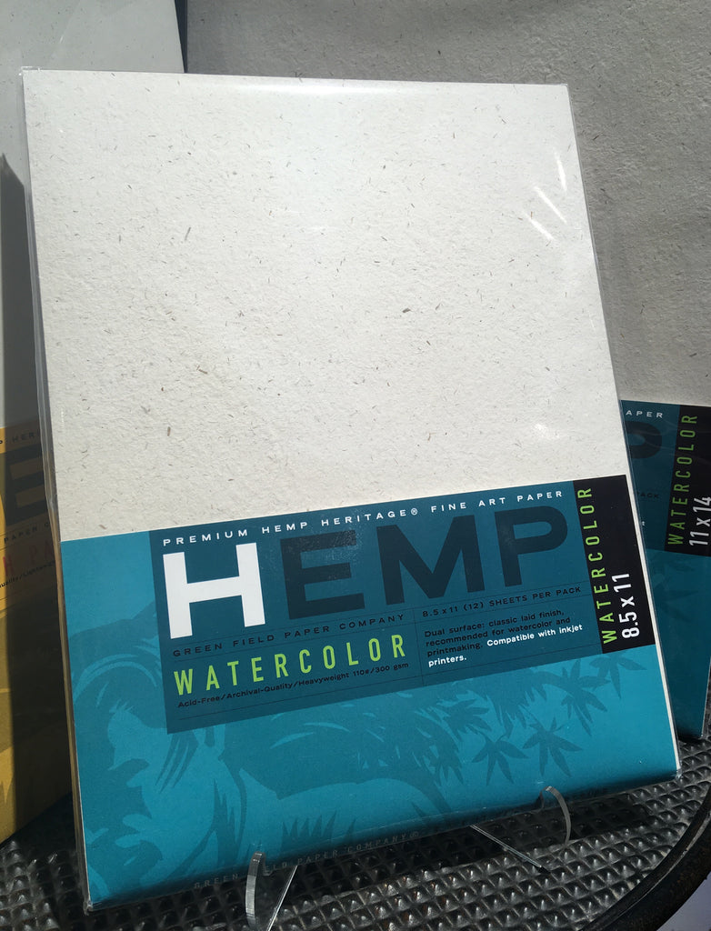 Hemp Art Paper for Watercolor