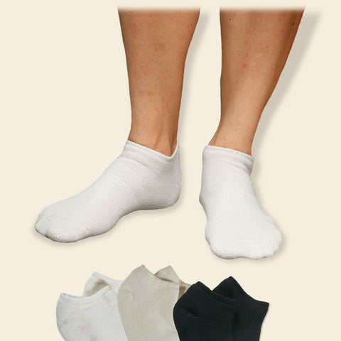 Organic Cotton Cush Footie Socks