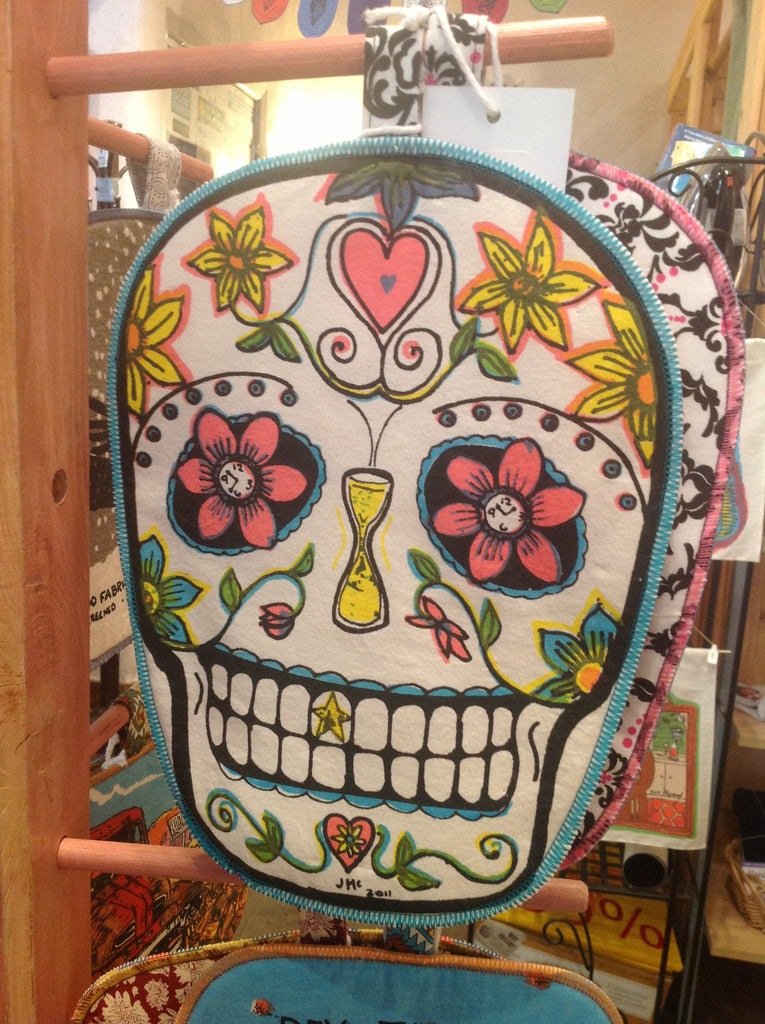 Potholder, Sugar Skull