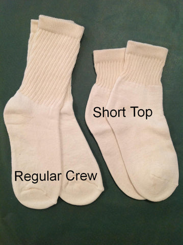 Organic Cotton Crew Socks