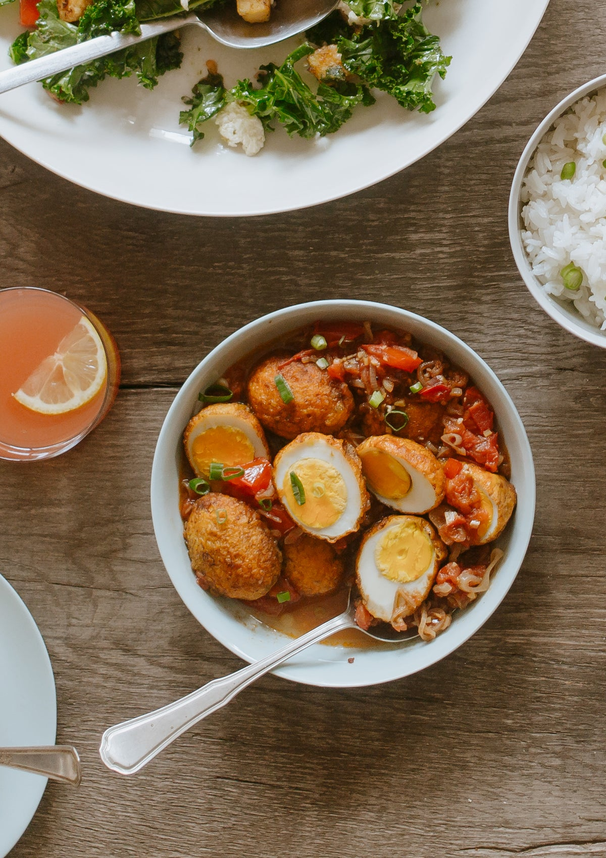 Hetty's Golden Burmese Egg Curry