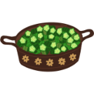 bhindi masala illustration