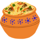 Biryani illustration