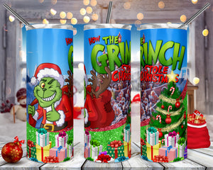 How the Grinch Stole Christmas Tumbler