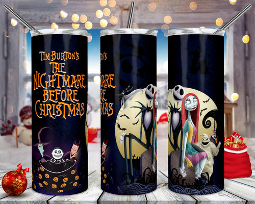 Nightmare before Christmas Tumbler
