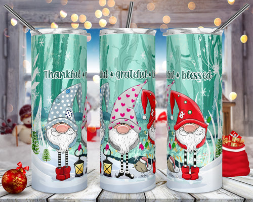 Holiday Gnomes Tumbler