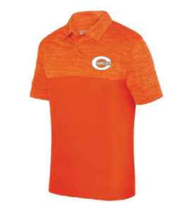 C Bobcat Heathered Orange Blend Polo