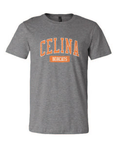 Celina Bobcat Collegiate Short Sleeves