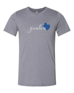 GT Gunter White with Blue State of Texas