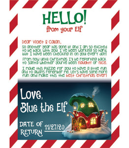 Elf on the Shelf Puzzle
