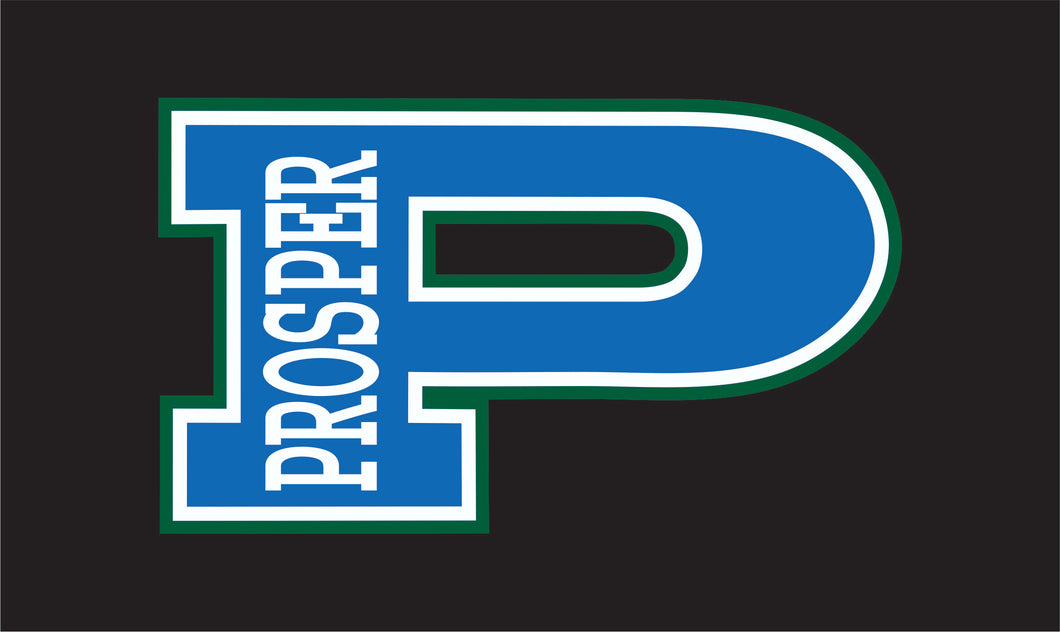 Blue and Green Prosper Decal