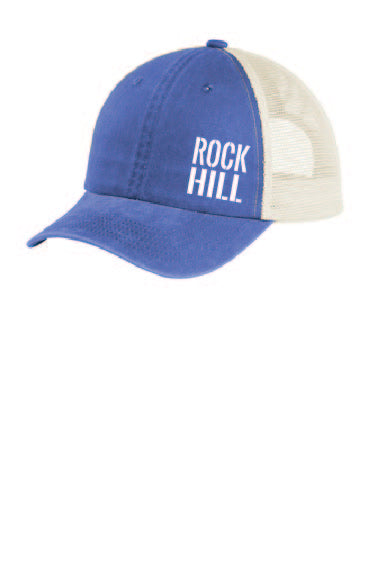 Rock Hill Hat Blue/Cream