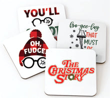Load image into Gallery viewer, A Christmas Story Coaster Set of 4