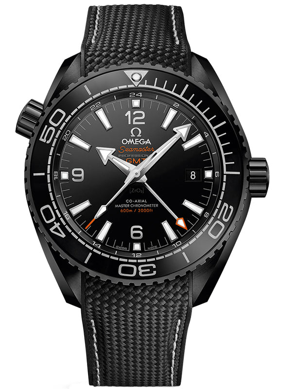 Omega 215.92.46.22.01.001 Planet Ocean 600m Co-Axial Master Chronometer GMT 45.5mm Mens Watch
