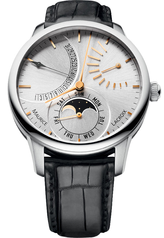 Maurice Lacroix Masterpiece Lune Retrograde Automatic mp6528-ss001-130