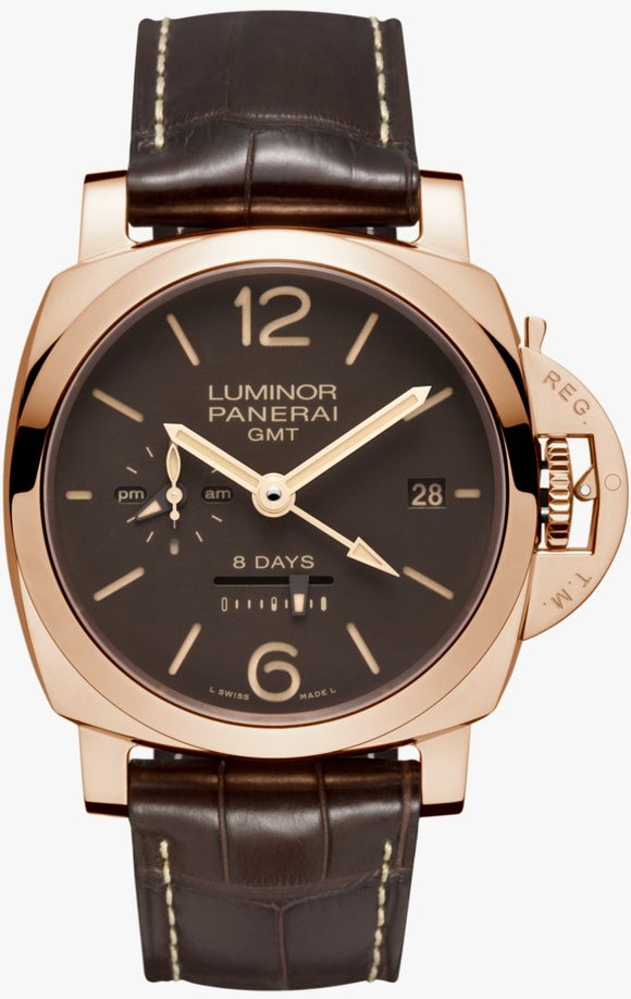 Panerai Luminor 1950 8 Days GMT Manual Wind 44mm PAM00576